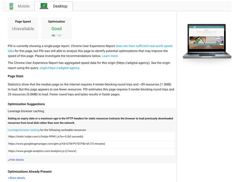 Desktop 98% Result