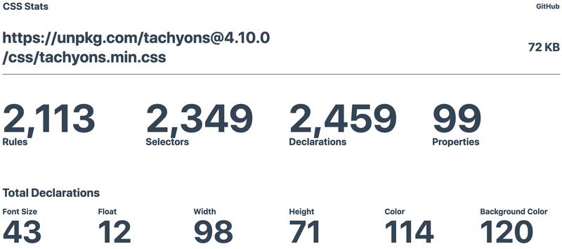 Tachyons-base-file-stats