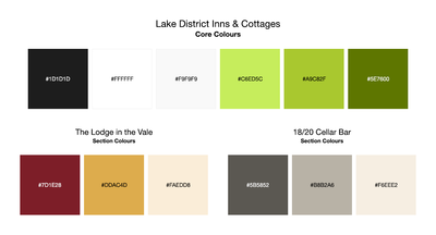 Colour Palette