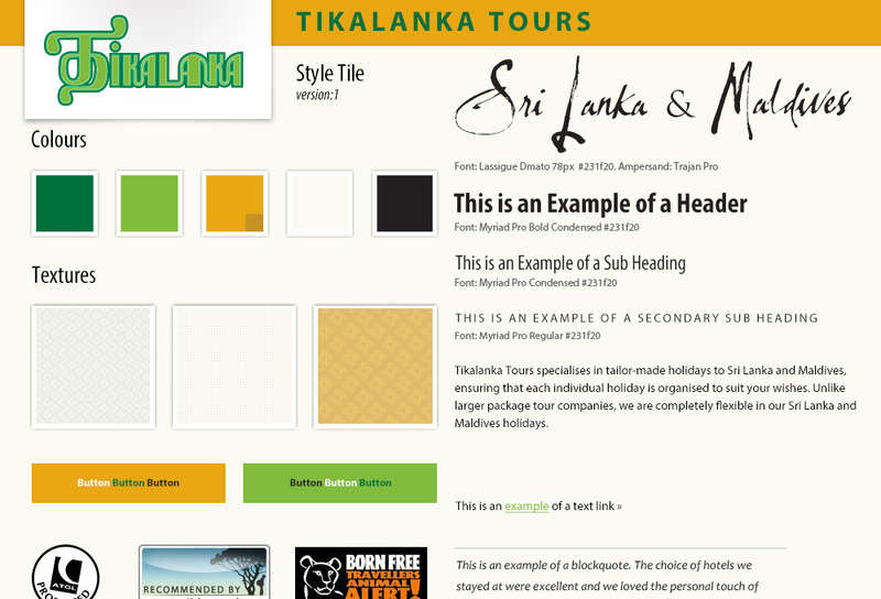 Essential Tools For Planning Your Website: Part 5 - Style Tiles